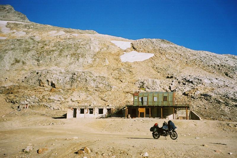 zaterdag 17 augustus 2002 Pointe Sommeiller 3050 m.