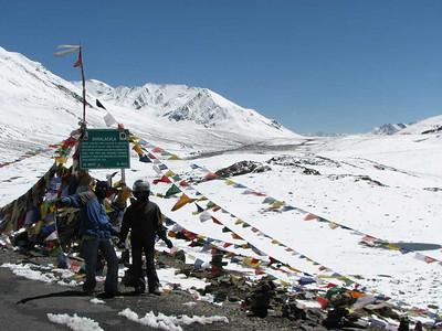 Pashoogte Baralacha La, 4892 meter