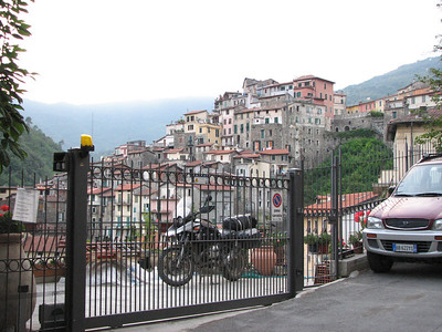 At home in Pigna