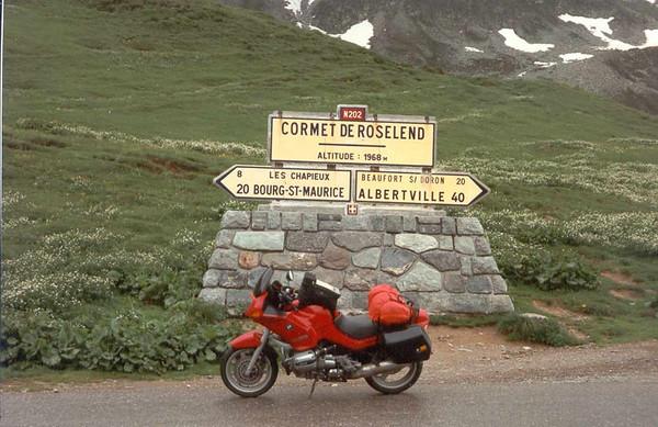 '93 pashoogte Cormet de Roseland