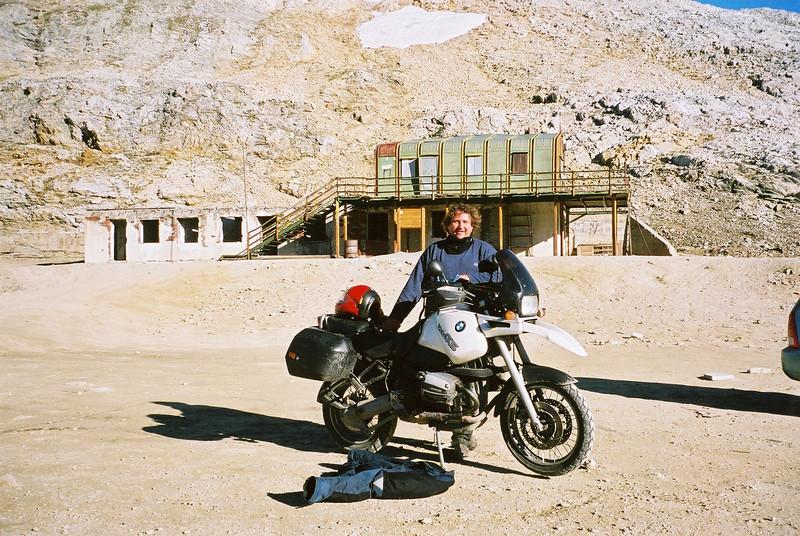 aug '02 Eén van de hoogtepunten van mijn motocarrière!!! 3050 meter
