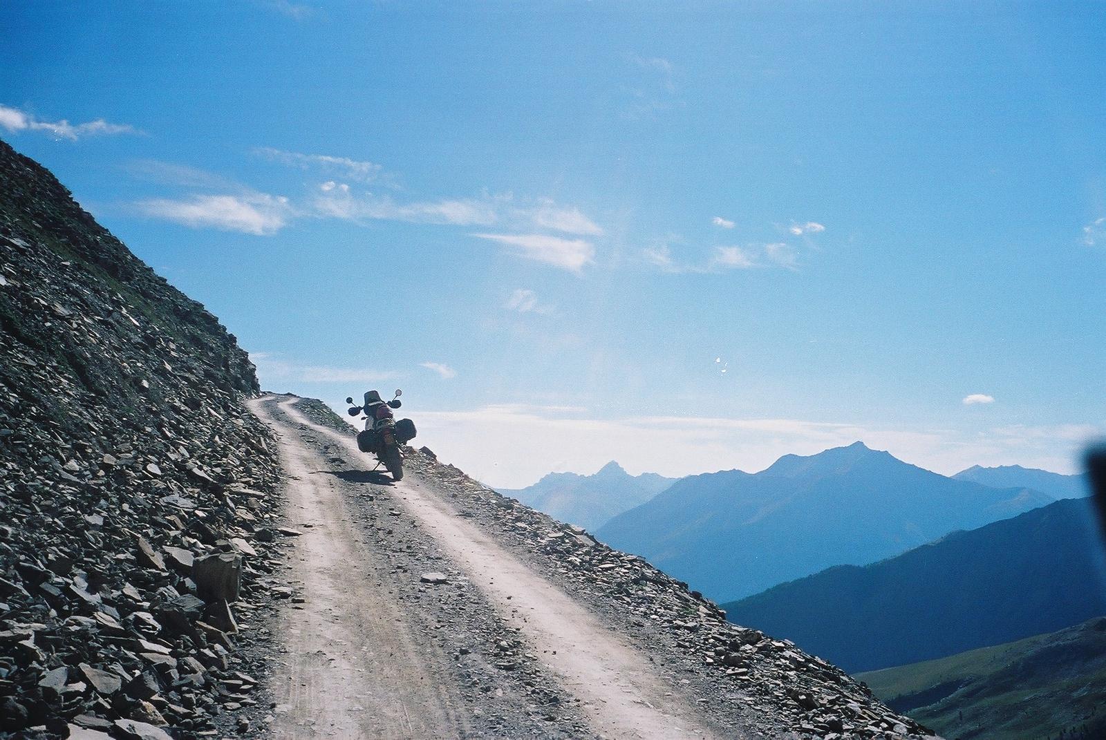 Augustus 2002 Stairway to heaven. Voor de eerste keer zou ik de top bereiken en voor de tunnel staan