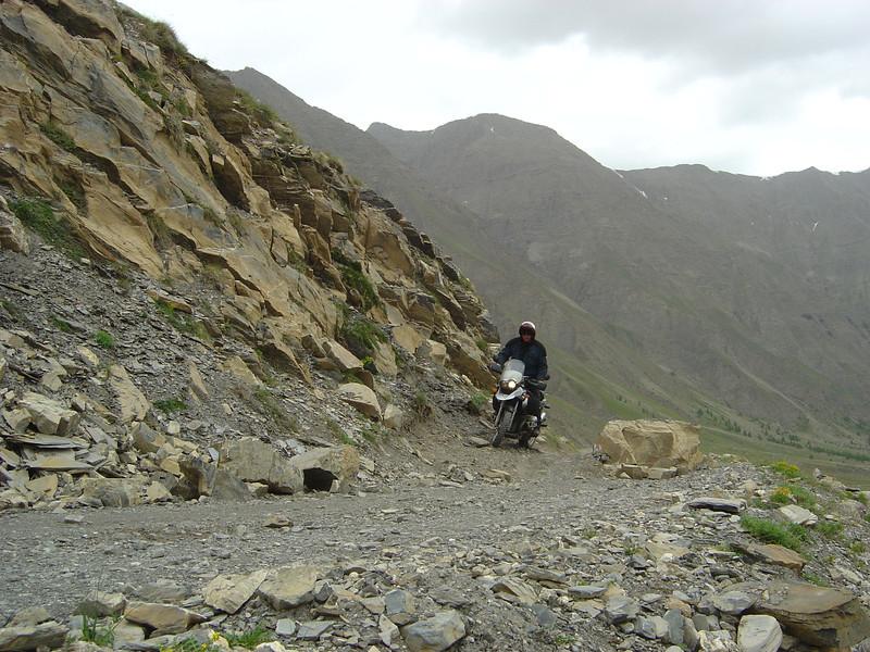 juni '06 af en toe een rotsblokje
