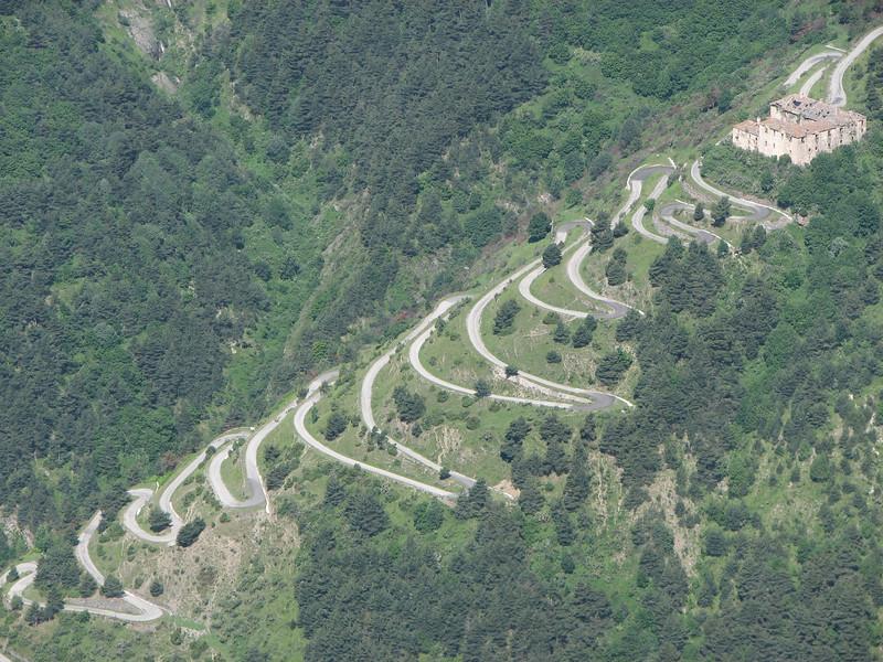 De meest heroïsche en langste route van allen, de Ligurische Grens Kam Route. De Tendapas is de indrukwekkendste toegang
