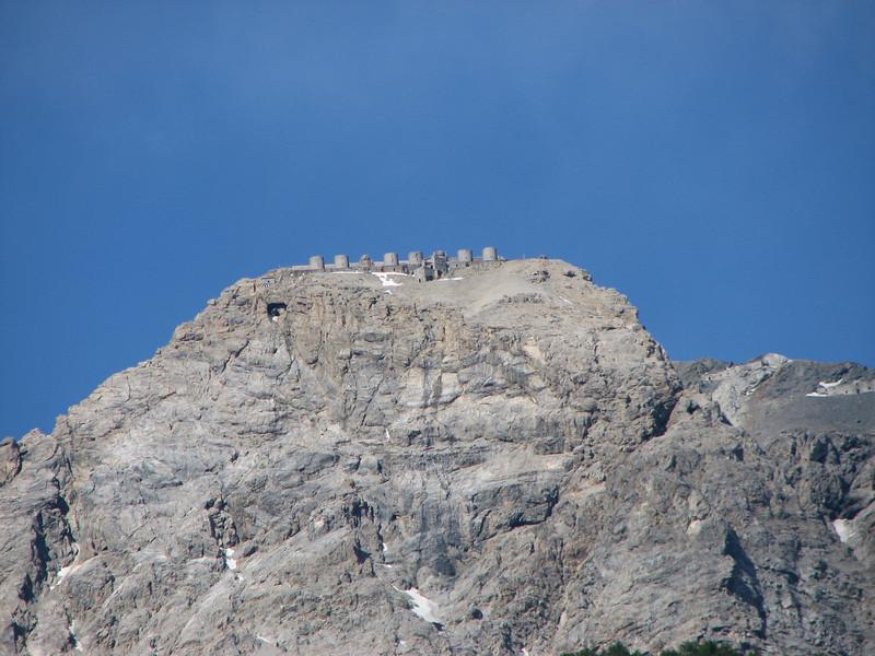 Forte Chaberton, 3136 meter hoog, verboden sinds '97