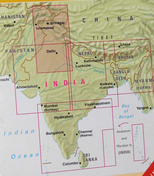 the Indian sub continent