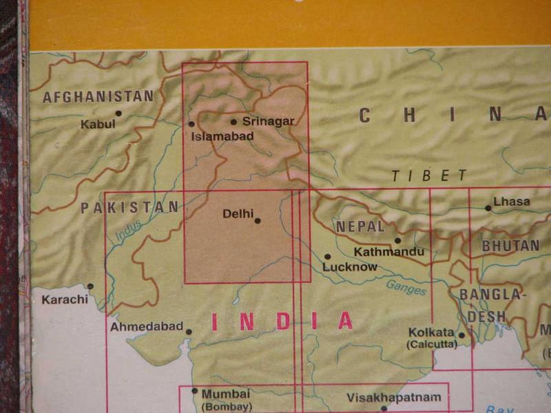 Ladakh, ten noorden van de grote Himalaya