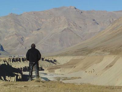 Onbeschrijflijk landschap op wandelafstand van de tenten