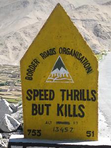 Wijze raad van Border Road Organisation