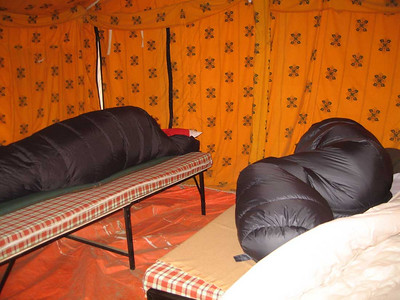 Sarchu. Luxury tents with all basic facilities