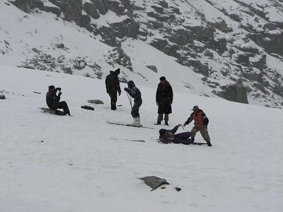 Indische skiërs
