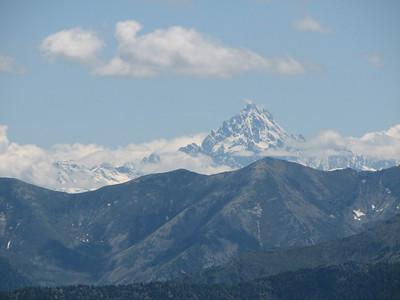 Monte Viso ten zuiden van ons
