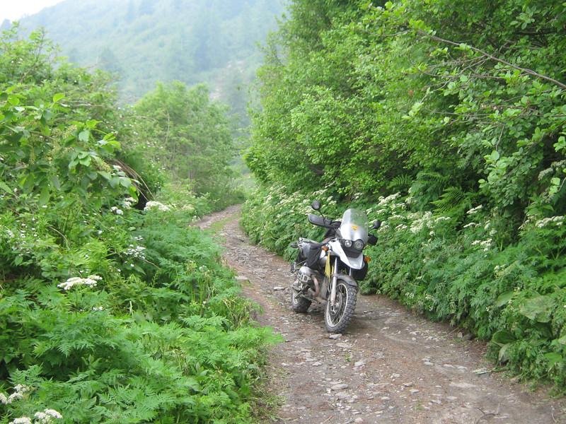 Respecteer de natuur, Varaita Maira route